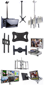 Use one of these mounts instead of an LCD TV stand.