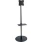 Economy TV Stand with Accessory Shelf