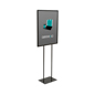"22"" x 28"" Steel Poster Stand With Top Insert"