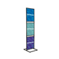 "Double-Sided Triple Tier 22"" x 28"" Graphic Stand"