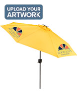 Custom Patio Umbrella Perfect for a Company Logo