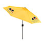 Custom Patio Umbrella in Yellow with Printed Logos