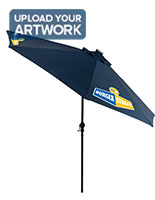 Outdoor Market Umbrella with Interchangable Canvas Canopy