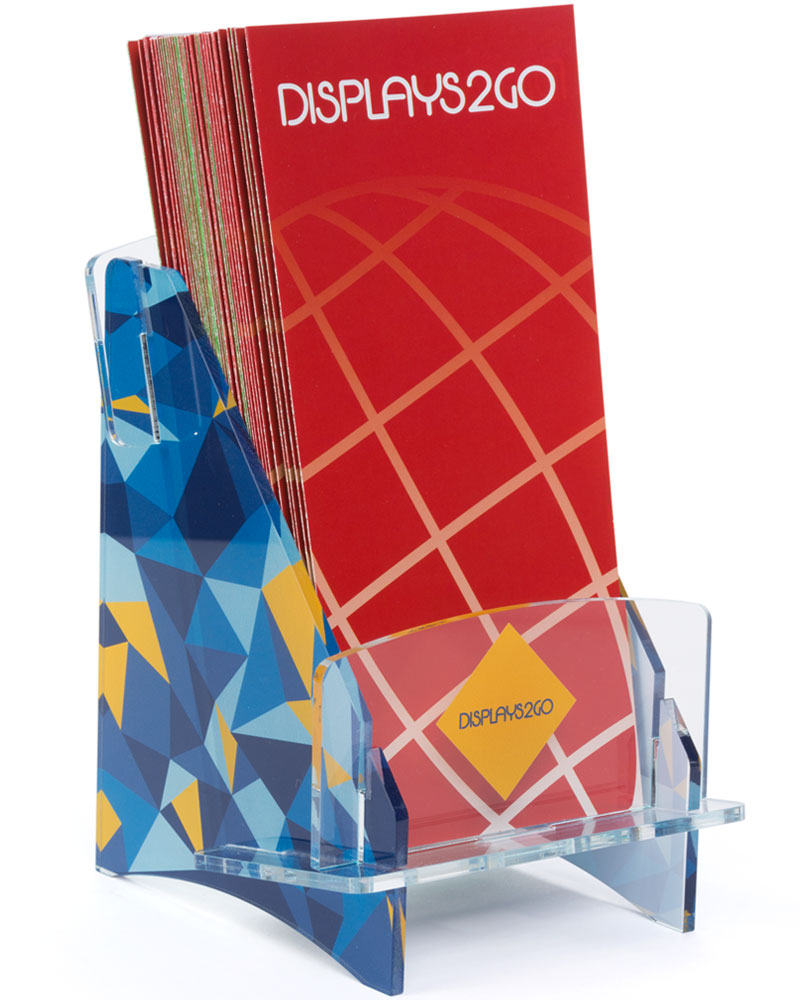 UV Printed Acrylic Brochure Display
