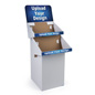 2-Tiered Custom Cardboard Display Stands