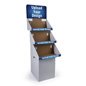 Floor Standing Customized 3 Tier Cardboard FSDU Display