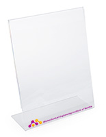 Custom 11x14 Acrylic Sign Holder for Tabletops