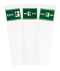 2-sided 10.5x9 replacement exit graphics for FSSS4812EX1
