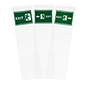 10.5x9 replacement exit graphics for FSSS4812EX1 for wayfinding