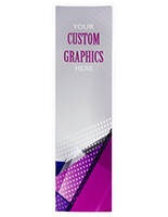 Full length custom replacement graphic for FSSS4812 with double-sided printing