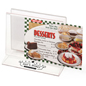 Customized Tabletop Menu Holder Rack with Full Color Printing