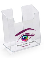 UV Printed Tabletop Brochure Holder