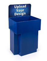Customized Dump Bin Cardboard Display with Removable Header