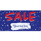 Landscape orientation 4' x 2' seasonal hanging banner