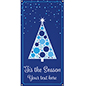 2' x 4' hanging seasonal banner with pre-printed holiday graphics