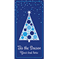 "4' x 8' ""'Tis the Season"" hanging banner with holiday inspired graphics"