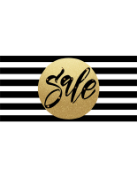 96 x 48 Gold sphere holiday sale banner