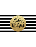 96 x 48 Gold foreground holiday business banner