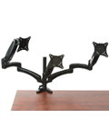 Triple Monitor Desk Mount with Three Arms
