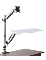 Monitor Desk Mount Stand, 17.6lb Load Capacity