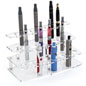 24-Pen Acrylic Atomizer Stand for Vapes