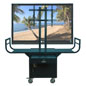 Presentation Equipment Plasma TV Cart