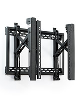 Adjustable video wall bracket