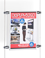 Wall Display Systems with Acrylic Panels