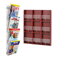 Wall Mount Magazine Racks