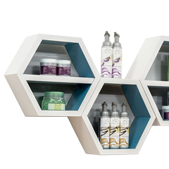 Wall Mount Retail Shelves
