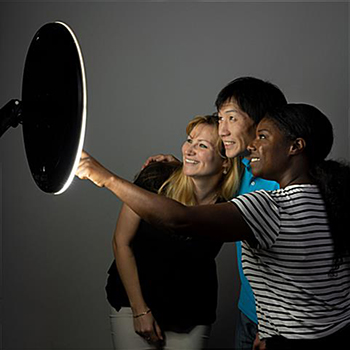 Wall Mounted Selfie Station for Group Photos
