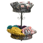 Two Tier Retail Display Basket