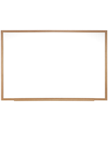 whiteboards with wood frame