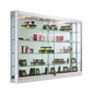 Wall Mounted Display Cabinet with LED Lights for Home Use