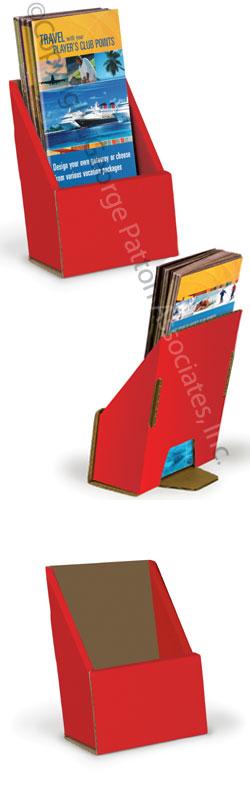 tri fold brochure holder