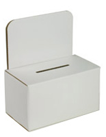 Suggestion Box with White Header
