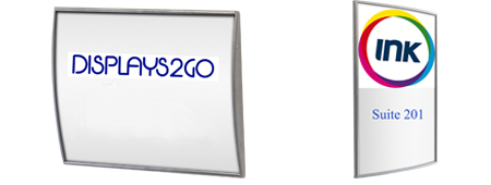 8.5x11 sign holder with protective lens