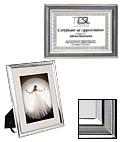 4 x 6 Silver Plated Frames
