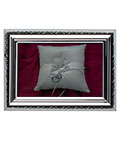 Silver Plated Frame with Decorative Profile