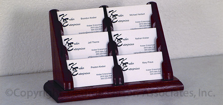 business cards holder