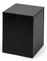 Black Small Display Pedestal