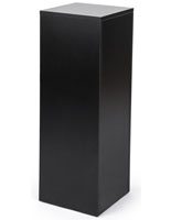 Black Retail Pedestal