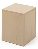 Particle Board Merchandising Cube
