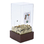 Donation Lock Box with Lock & Security T-Bar