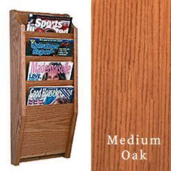wood magazine racks