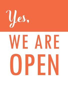 Downloadable We Are Open Sign