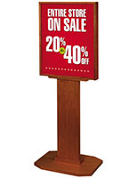 "Poster Stand for 22"" x 28"" Graphics"