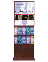 10-Pocket Literature Display