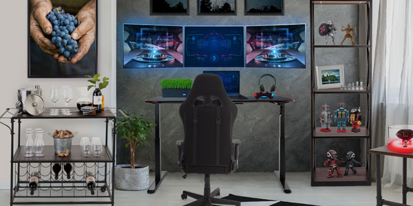 Ultimate gaming home office