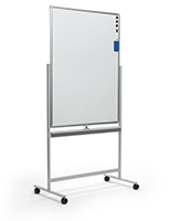 Dry-wipe magnetic whiteboard